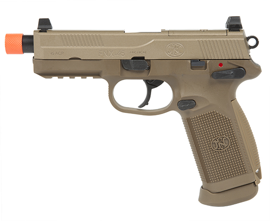 Страйкбольный пистолет FN Herstal FNX-45T FPS-424 Blowback