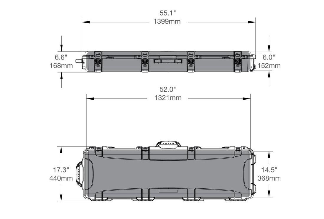 Размеры и характеристики Nanuk 995