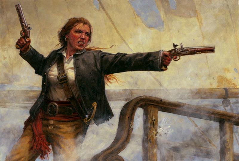 Энн Бонни - женщина-пират
