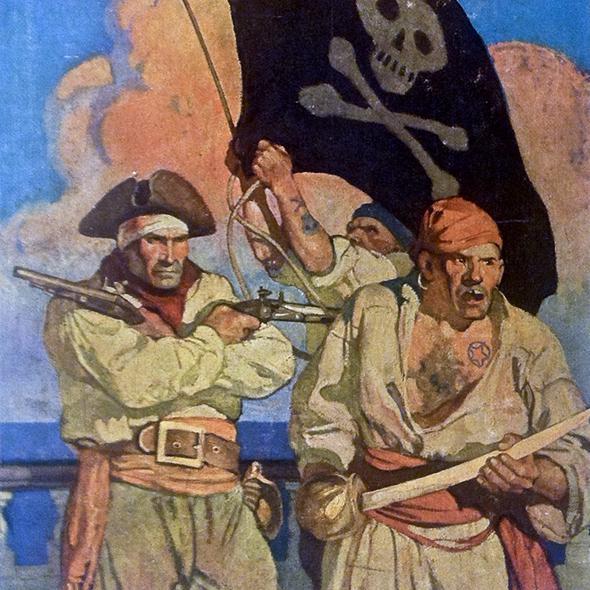 Пираты, каперы, корсары, буканьеры